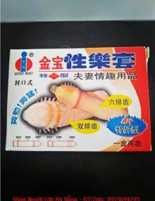 Bao cao su có gai gold gai bán Đà Nẵng