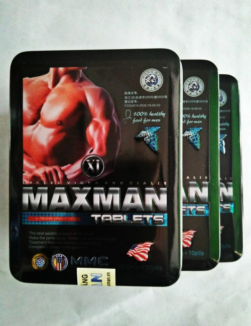 Thuốc cường dương Maxman 3800 bán Đà Nẵng