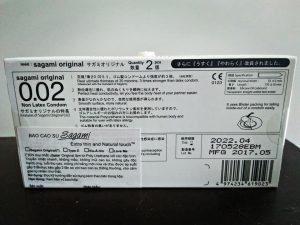 Bao cao su sagami 002 cực siêu mỏng bán tại Đà Nẵng
