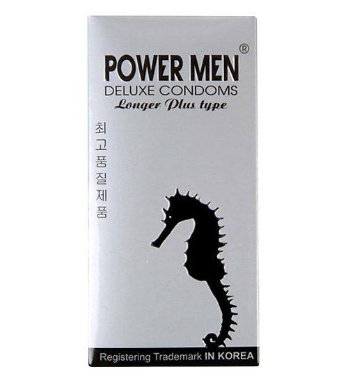 Bao cao su Power men longer Plus Type cá ngựa bạc hộp 12 bao bán Đà Nẵng