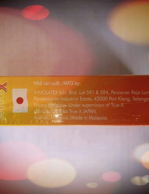 Bao cao su True-X SeduceX bán Đà Nẵng - Shop bao cao su Đà Nẵng